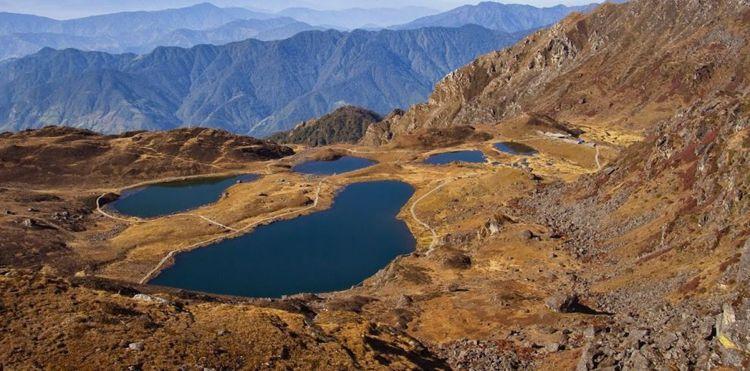Panch Pokhari. Image Source: greatadventuretreks