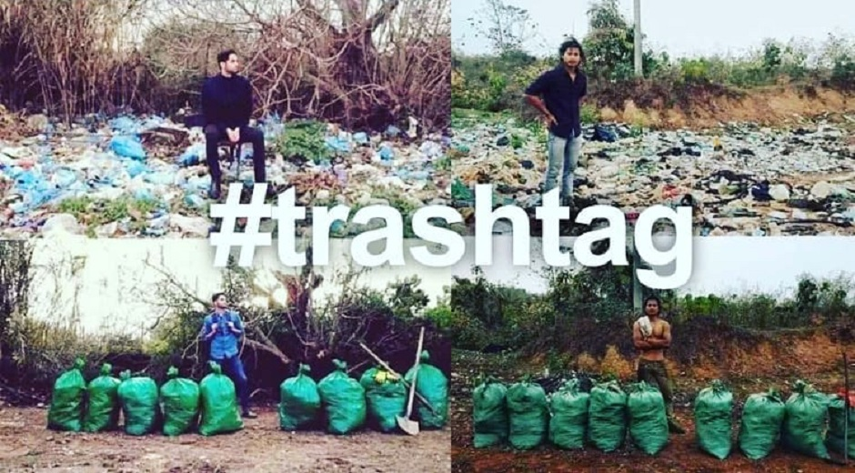 #Trashtag Challenge Goes Viral Across the Internet