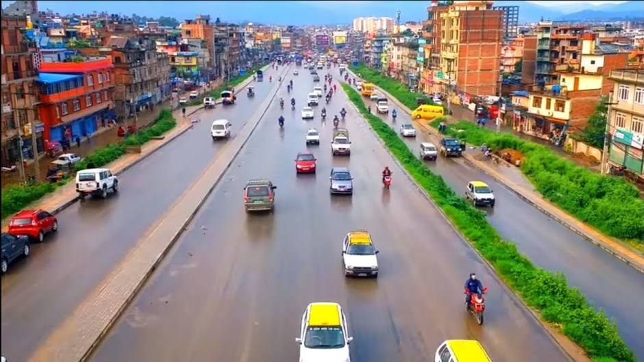 parking alongside ring road banned in kathmandu
