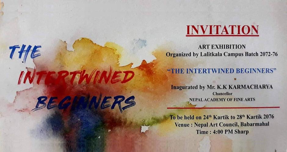 Art Exhibition in Kathmandu