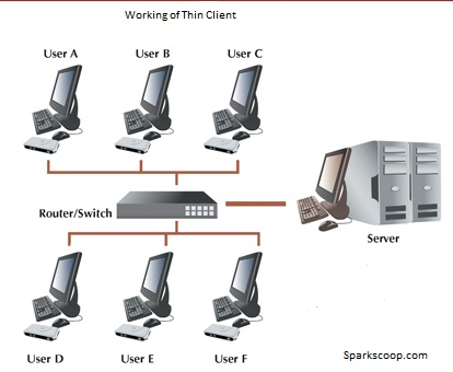 thin client working