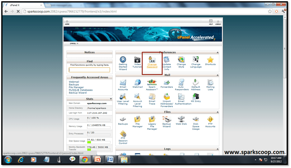 cpanel_home