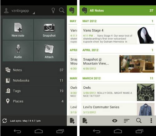 Evernote Mobile Apps For Bloggers