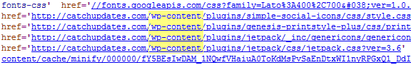 to check if website uses wordpress