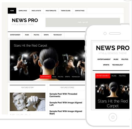 News Pro Theme - Genesis Child Themes