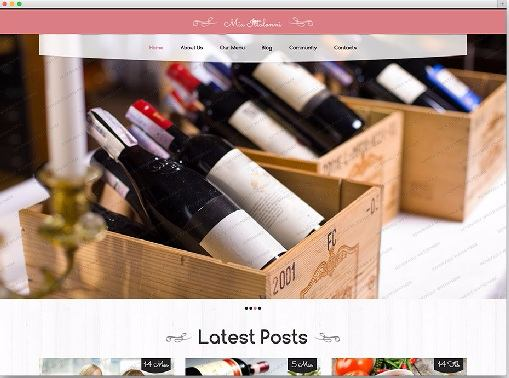 Restaurant - Best Free WordPress Themes