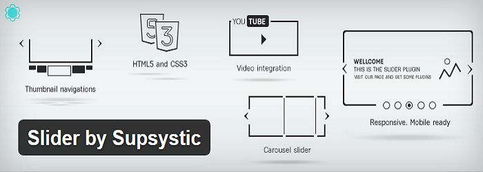 Slider by Supsystic- Best slider plugins