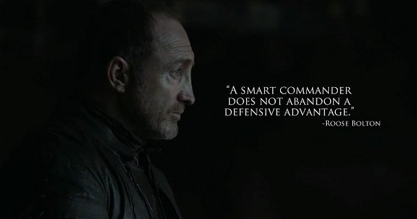 Lessons Bloggers Can Learn From Game Of Thrones - Roose Bolton