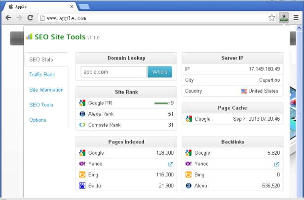 Seo site tools - SEO Chrome Extensions