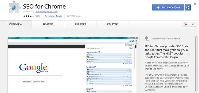 seo for chrome - SEO Chrome Extensions