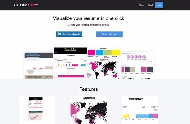 Tools To Create Infographics - Visualize Me