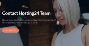 Hosting24 Review Contact Support