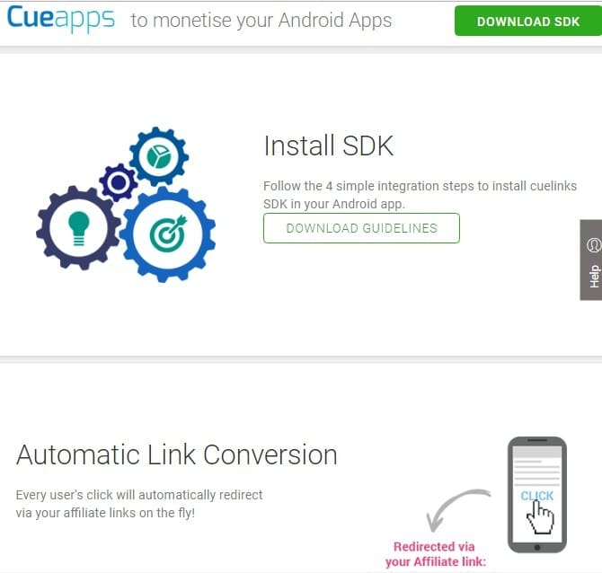 Cue links review - Cueapps Andoid SDK