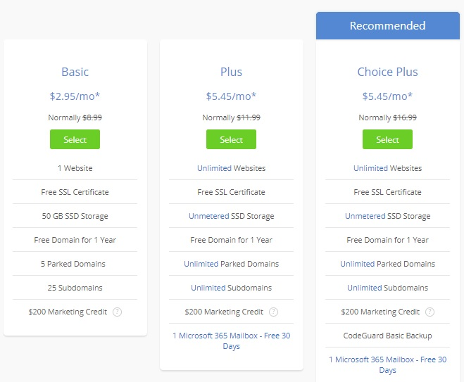 BlueHost - WordPress hosting provider