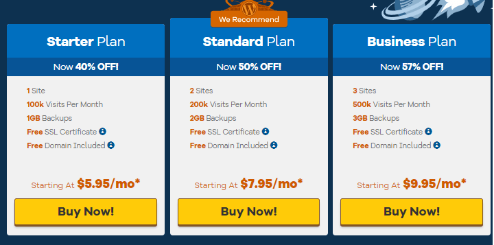 hostgator - best wordpress hosting provider