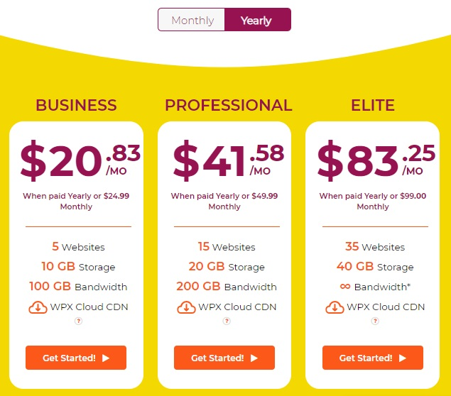 WPX Hosting Review - WPX Hosting Pricing