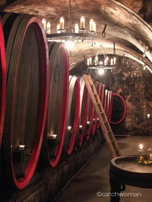 Ein Weinkeller wie aus dem Bilderbuch