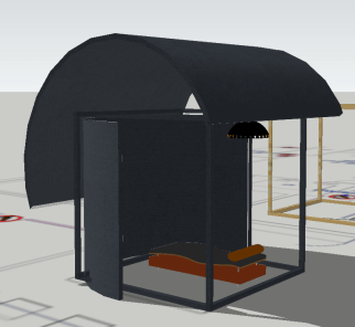 Step One of Cad Model Process.