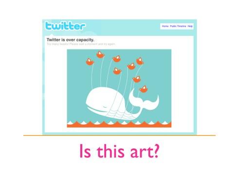 The Twitter Fail Whale