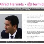 Alfred Hermida - @Hermida