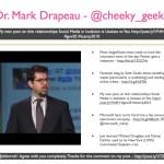 Dr. Mark Drapeau - @cheeky_geeky