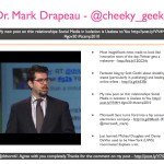 Dr. Mark Drapeau - @cheeky_geeky