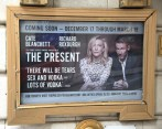 Theatre Marquee preview for 'The Present' starring Cate Blanchett and Richard Roxburgh at the Ethel Barrymore Theatre on September 21, 2016 in New York City.
