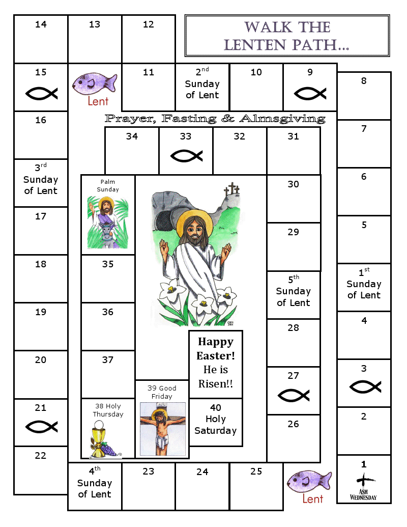 worksheet Lent Worksheets hail mary catholic and coloring pages on pinterest lent 40 lenten activities walk the path catechist s journey