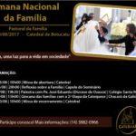 Abertura da Semana Nacional da Família ocorrerá no domingo (13)