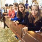 Terço Missionário reuniu crianças e famílias na Catedral