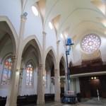 Nave central e Capela do Santíssimo Sacramento são os destaques da obra