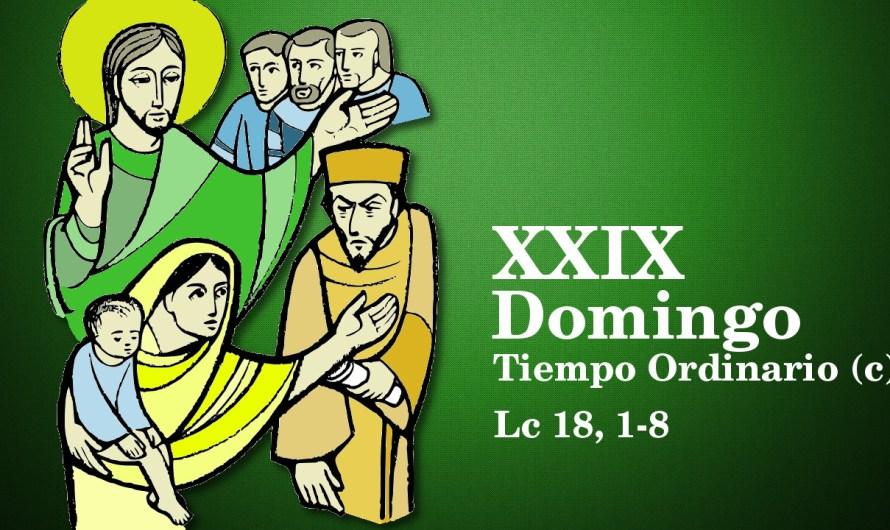 XXIX Domingo del Tiempo Ordinario (C)