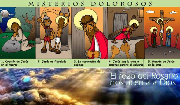El Santo Rosario: Misterios Dolorosos