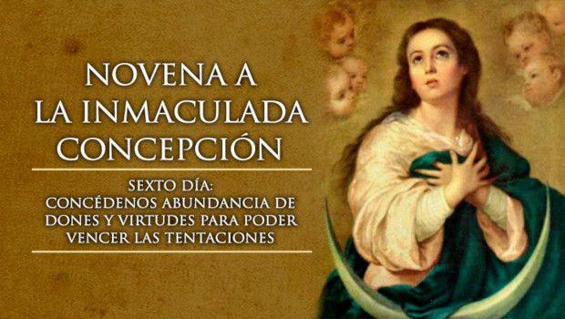 Día 6 – Novena a la Inmaculada Concepción de María