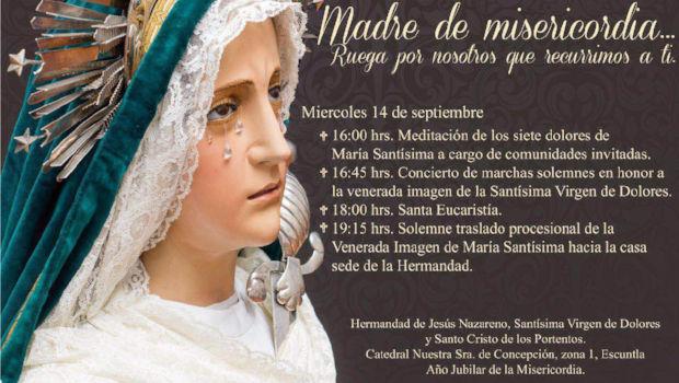 Visperas de Nuestra Señora de los Dolores