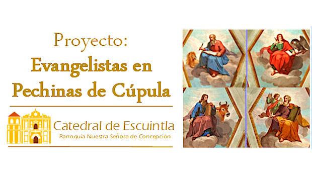 Proyecto: Evangelistas en Pechinas de Cúpula