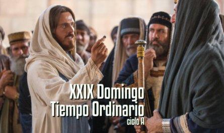 XXIX Domingo del Tiempo Ordinario A