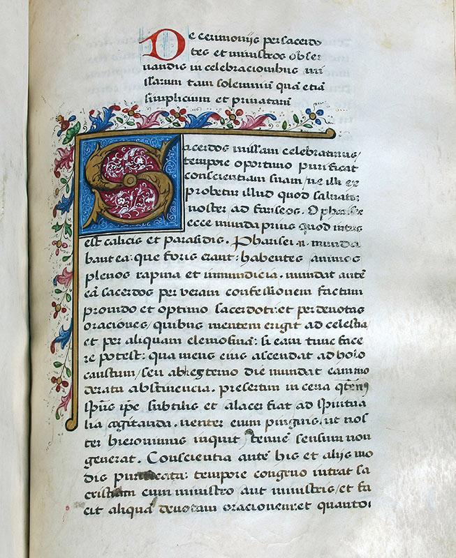 CONSUETA: LIBRO DE LAS CEREMONIAS Archivo de la Catedral de Granada