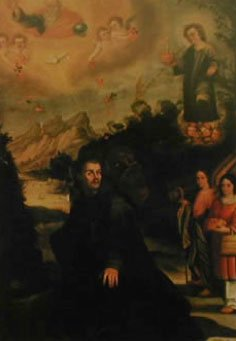 LA APARICIÓN DEL NIÑO JESÚS A SAN JUAN DE DIOS EN GAUCÍN (MÁLAGA)