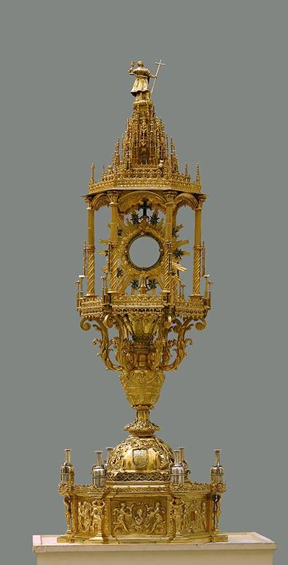 SIGLO XVI: CUSTODIA DEL CORPUS CHRISTI