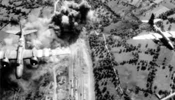Aviones EEUU Francia Segunda Guerra Mundial