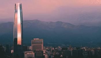 Cordillera Los Andes Chile Santiago