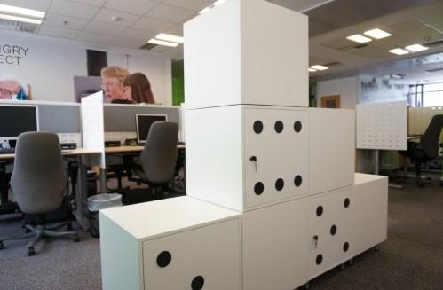dice locker cabinets designed by Vasileios Zygouris