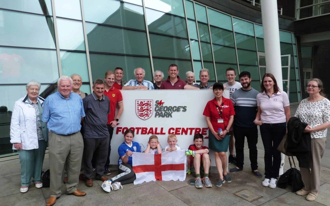 Solihull visits St George's Park