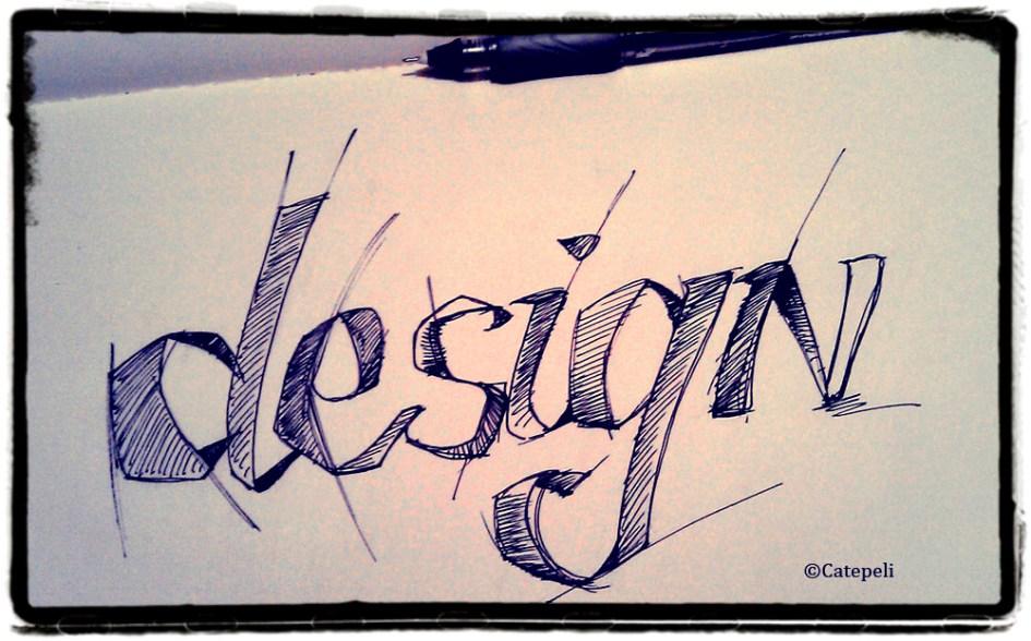 Le design sketché par Catepeli