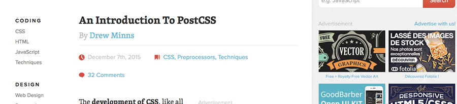 Introduction to the postcss