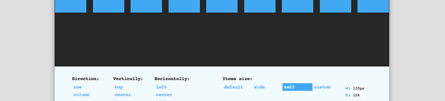 flexbox-attribute