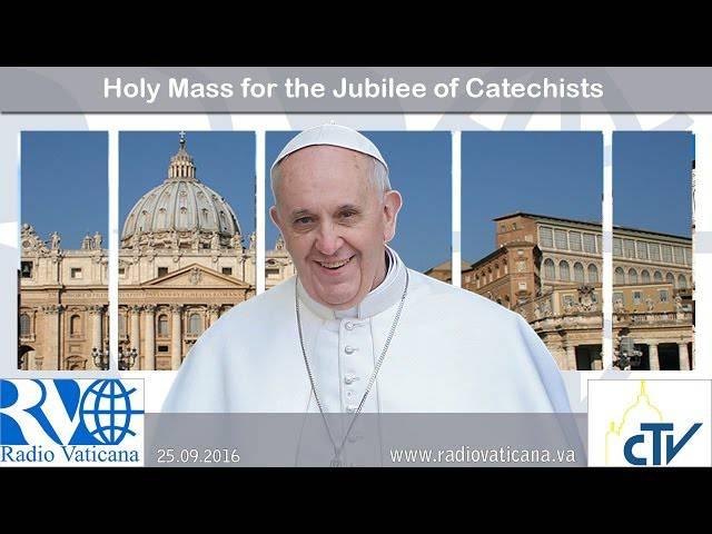 Catequistas en el Año de la Misericordia