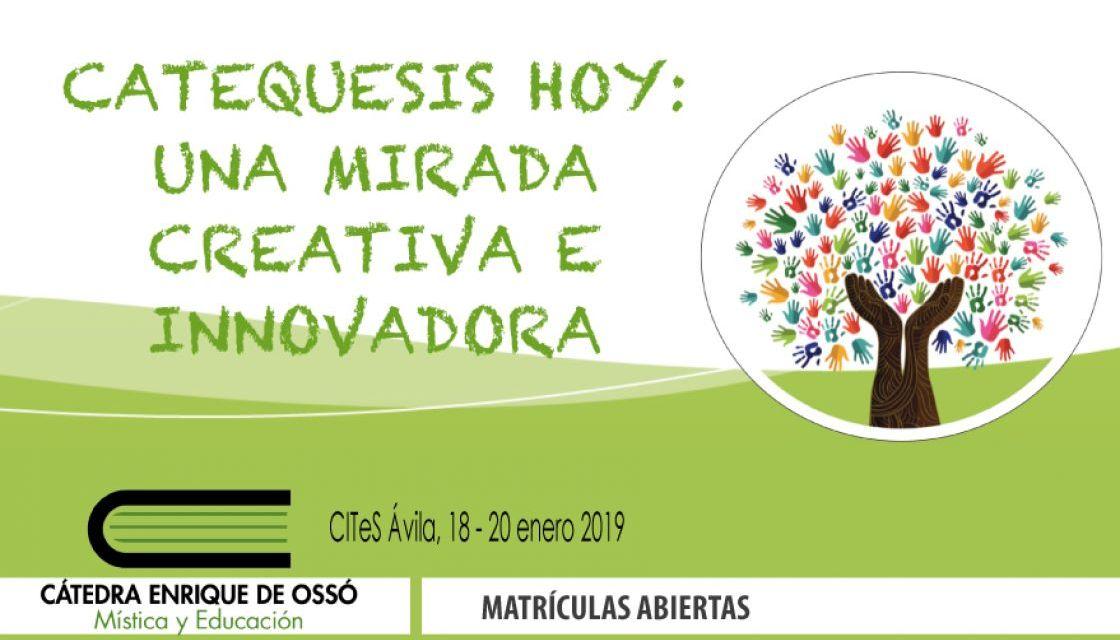"""""""Catequesis hoy"""" en la Catedra Enrique de Oso"""