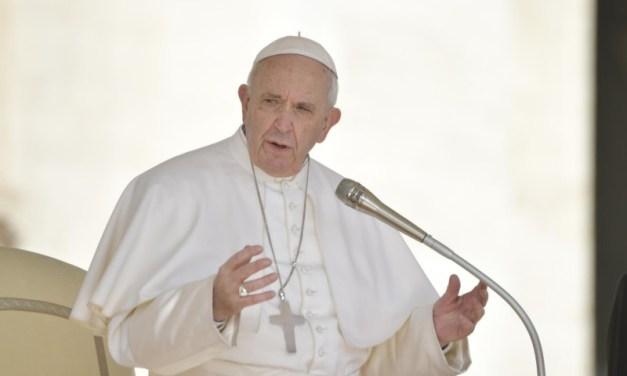 1ª Catequesis del Papa sobre las enfermedades sociales de la Pandemia